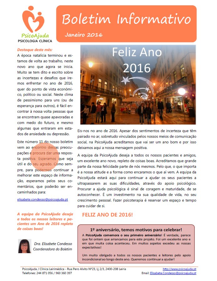 Boletim PsicoAjuda Capa - Jan.2016