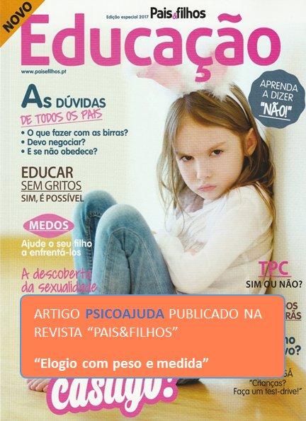 Artigo Pais&Filhos - Elogio com peso e medida, edição especial
