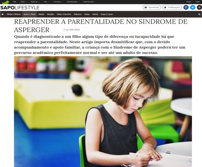 Reaprender a parentalidade no Síndrome de Asperger